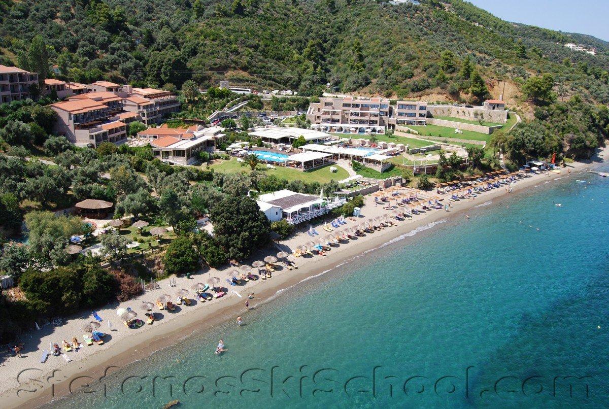 Vassilias beach skiathos watersports