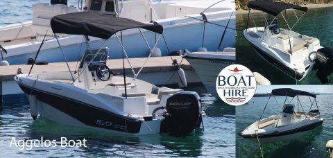 Skiathos Boat Hire -Greece