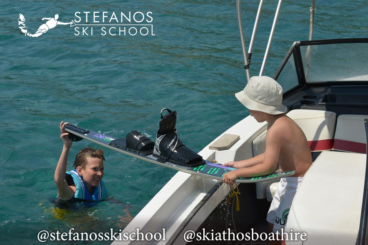 Skiathos Waterski Lesons @stefanosskischool
